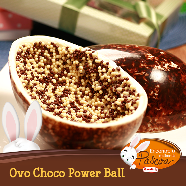 Ovo Choco Power Ball Receitas Ideias Doces