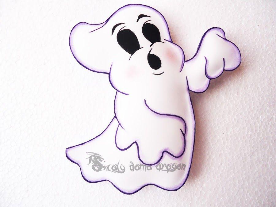 Fantasmas Diy Para Halloween En Goma Eva Fantasmas De Halloween Lápidas De Halloween Manualidades Halloween