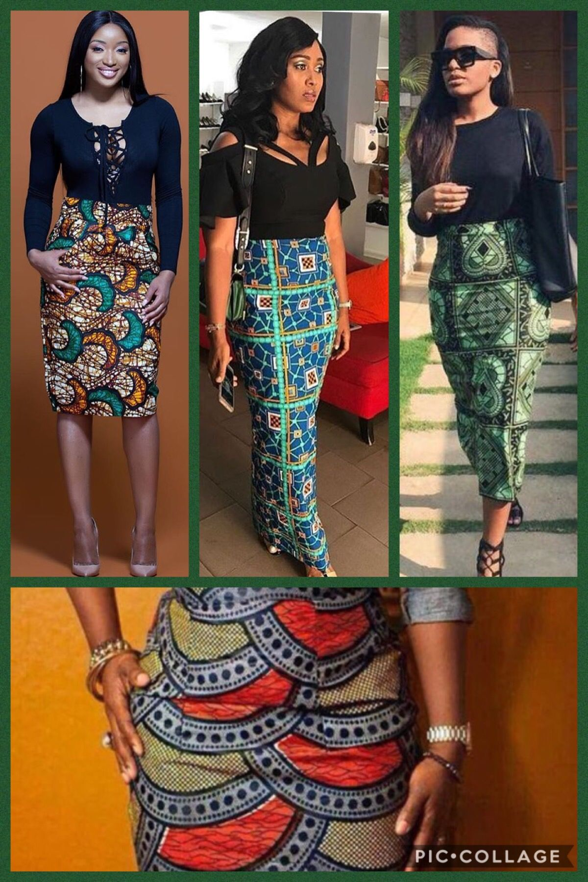 7f8be5c48f Simply beautiful African style pencil skirt, I want it !! Find it a Amazon .com