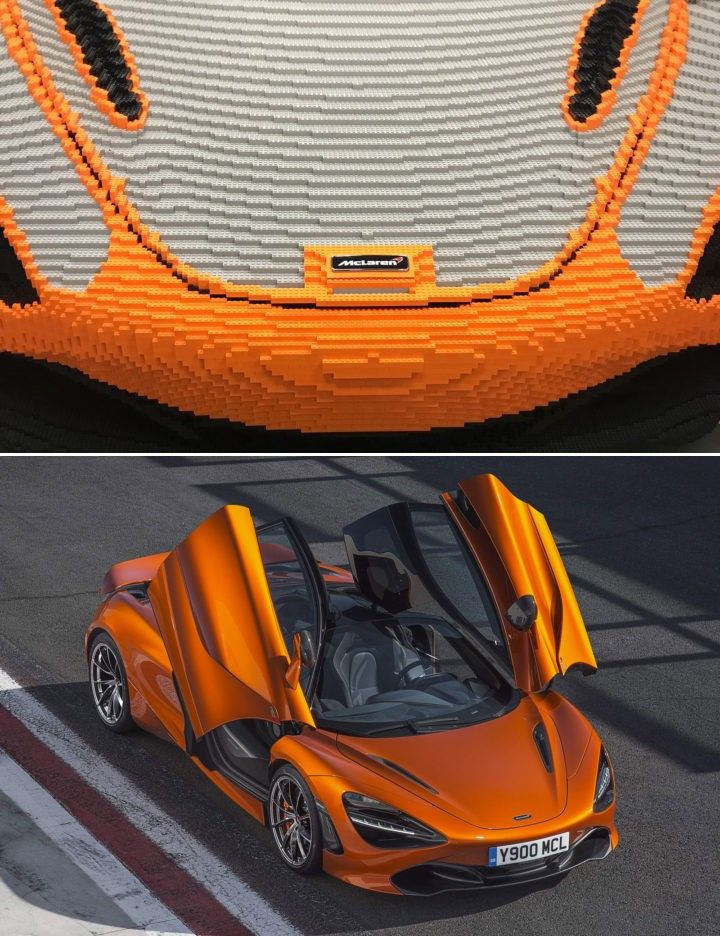 McLaren to display a full size 720S made with LEGO at Goodwood