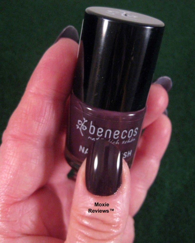 Benecos Deep Plum Nail Polish http://www.pravera.co.uk/shop/benecos ...