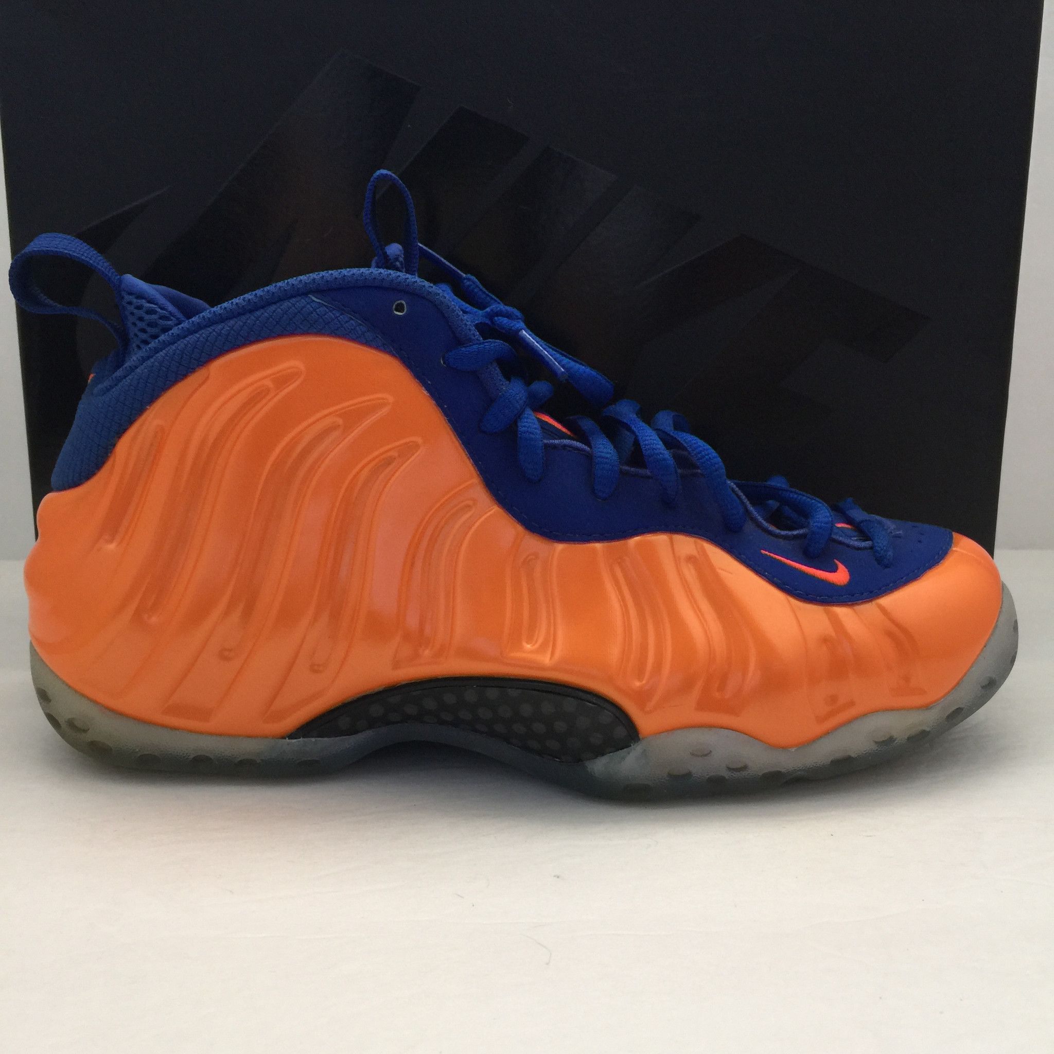 Nike Air Foamposite One Knicks Size 9