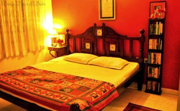 Design Decor Disha Home Tour Padmamanasa Jwalaniah Indian Bedroom