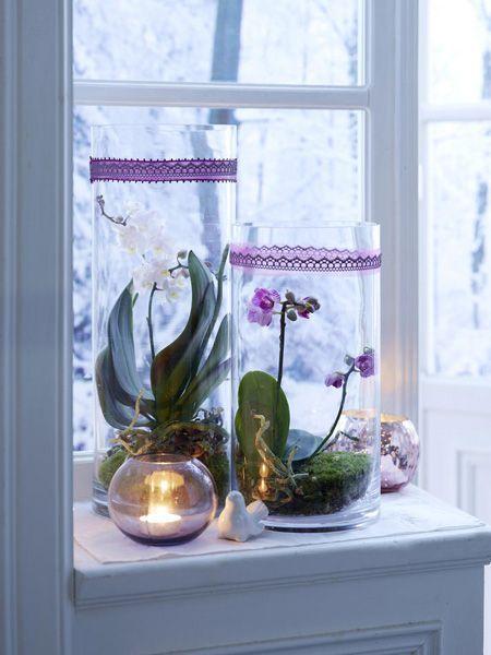 winterliche fensterdeko sch ne ideen zum selbermachen. Black Bedroom Furniture Sets. Home Design Ideas