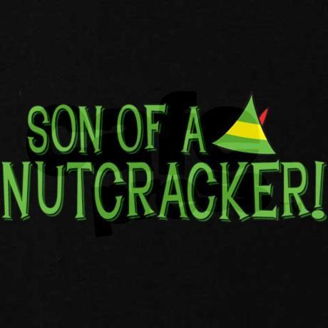Son Of A Nutcracker Maternity Dark T Shirt By Wheedesign