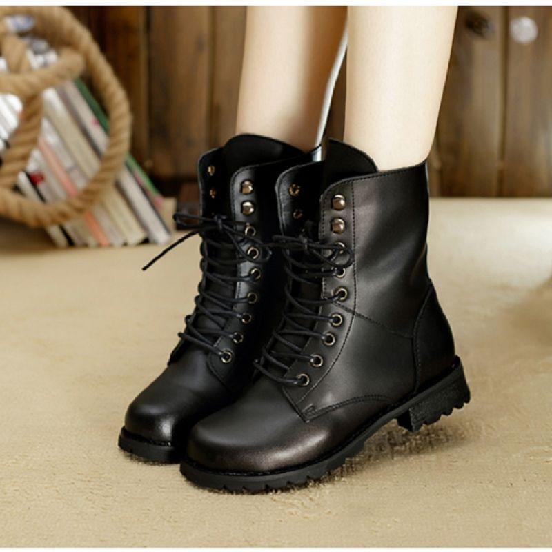 Zapatos estilo militar para mujer k8j8ARTC