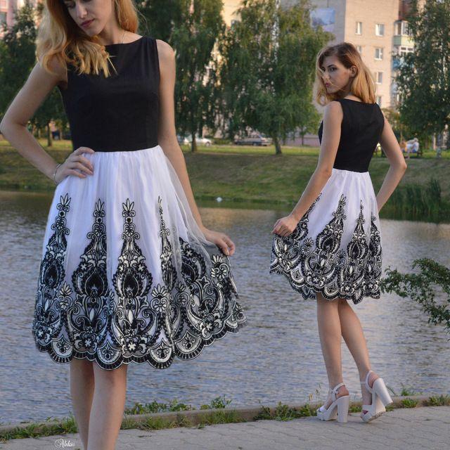 1950s Summer Vintage Dress O Neck Knee length Black Patchwork Pin Up Party  Dress Elegant Zippers Empire Female Retro Dresses - MISS LADIES 8360f11227a3