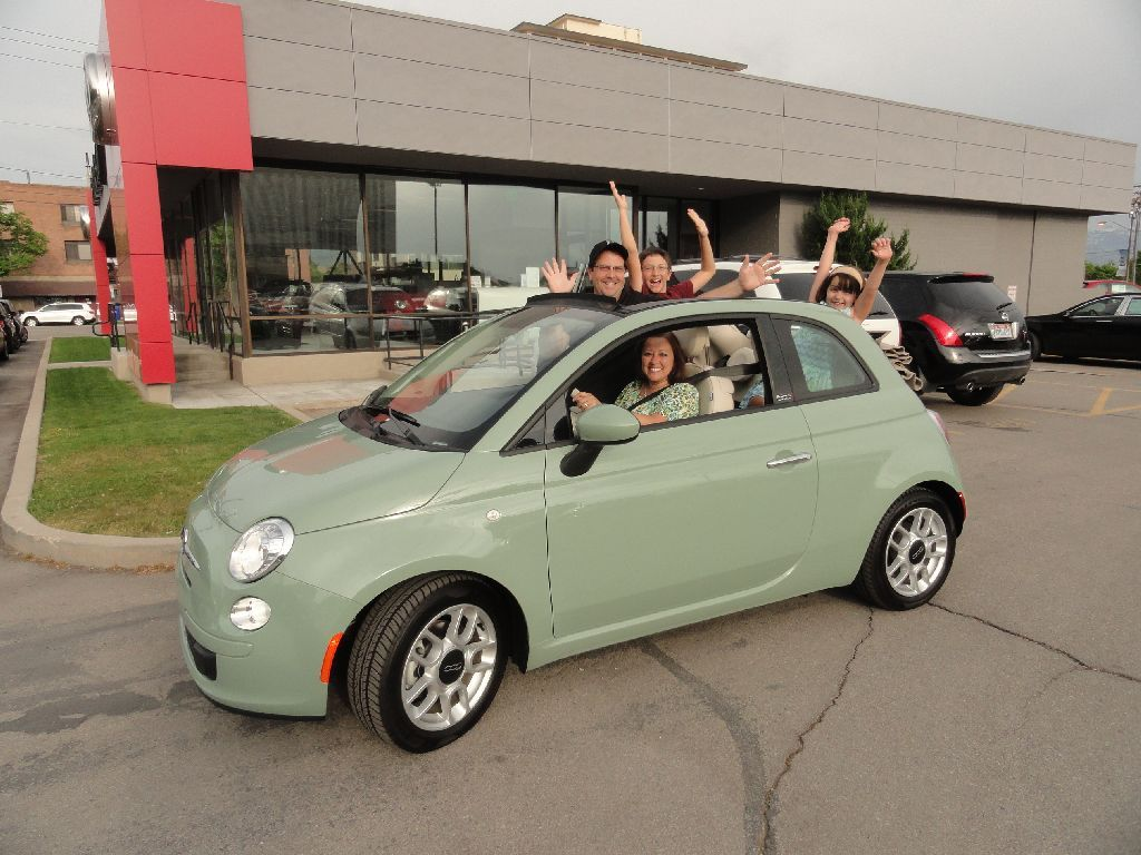 This is the Jensen family that just bought a Verde Chiarro
