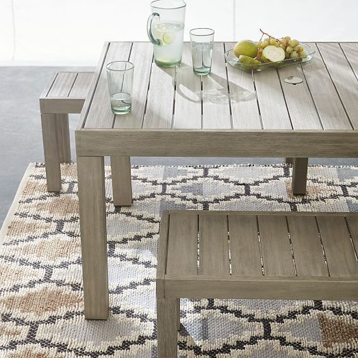 Portside Outdoor Dining Table 58 5 In 2020 Dining Table Outdoor Dining Furniture Outdoor Dining