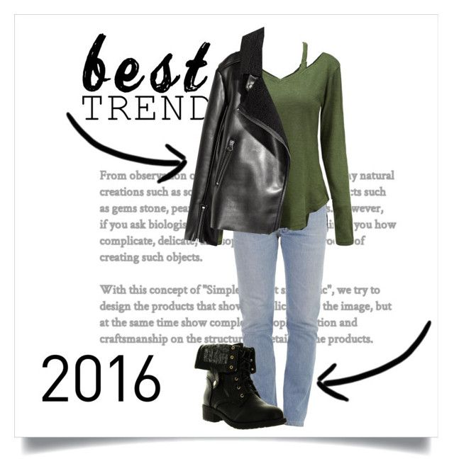 """""""Best Trends of 2016"""" by yoloser ❤ liked on Polyvore featuring Vetements and Refresh"""