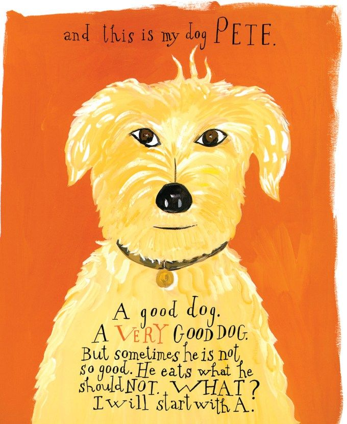 Beloved Dog: Maira Kalman's Illustrated Love Letter to Our Canine Companions