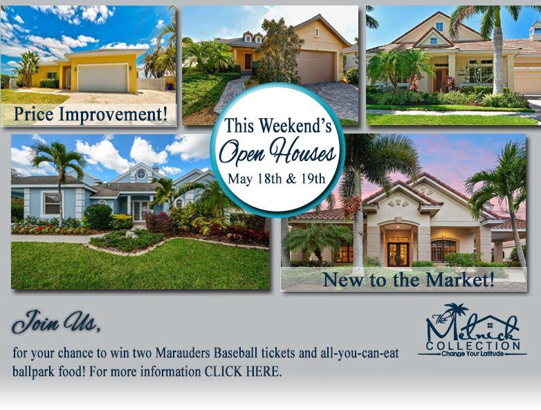 Open houses this weekend with raffle giveaway! Open