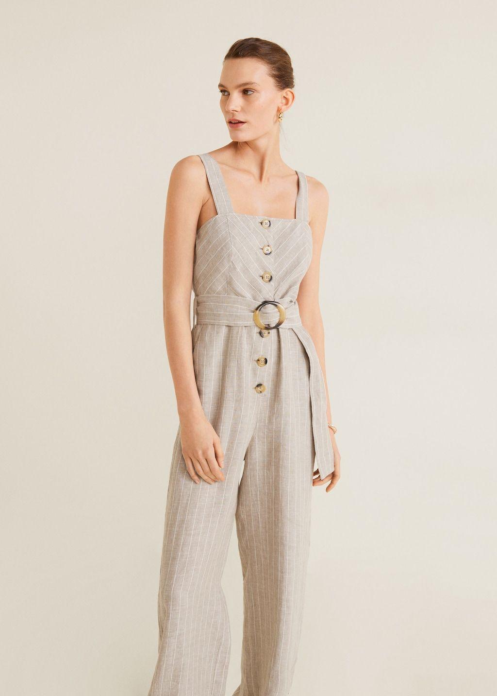nouveaux styles 01918 c7582 Combinaison lin - Femme en 2019 | WISHLIST | Femme, Mango ...