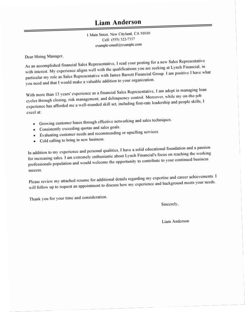 26 Sales Associate Cover Letter Cover Letter Tips Cover Letter