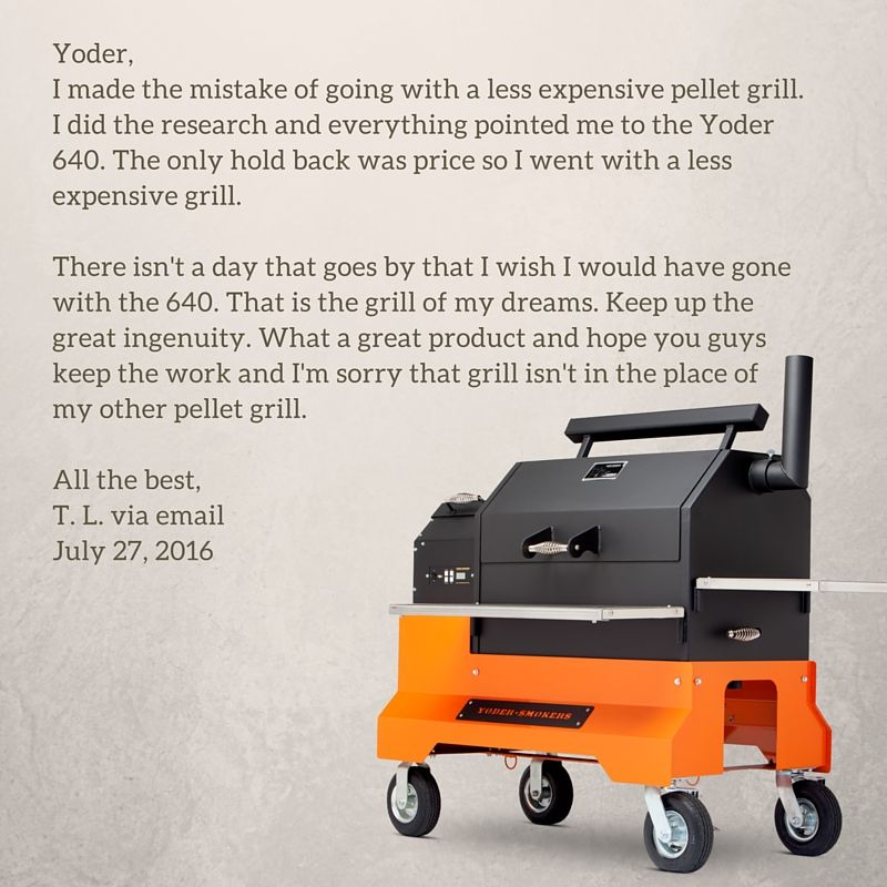 Yoder Smokers Ys640 The World S Most Versatile Grill