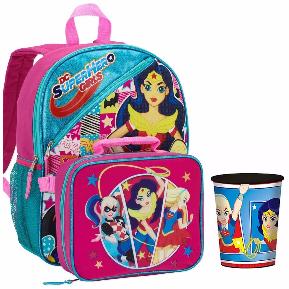 "Supergirl Super Girl Backpack Mini 10/"" Fashion Movie NEW"