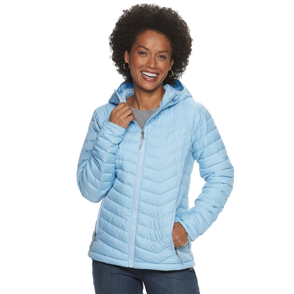 Women's Columbia Powder Lite Omni Heat Hooded Jacket, Size