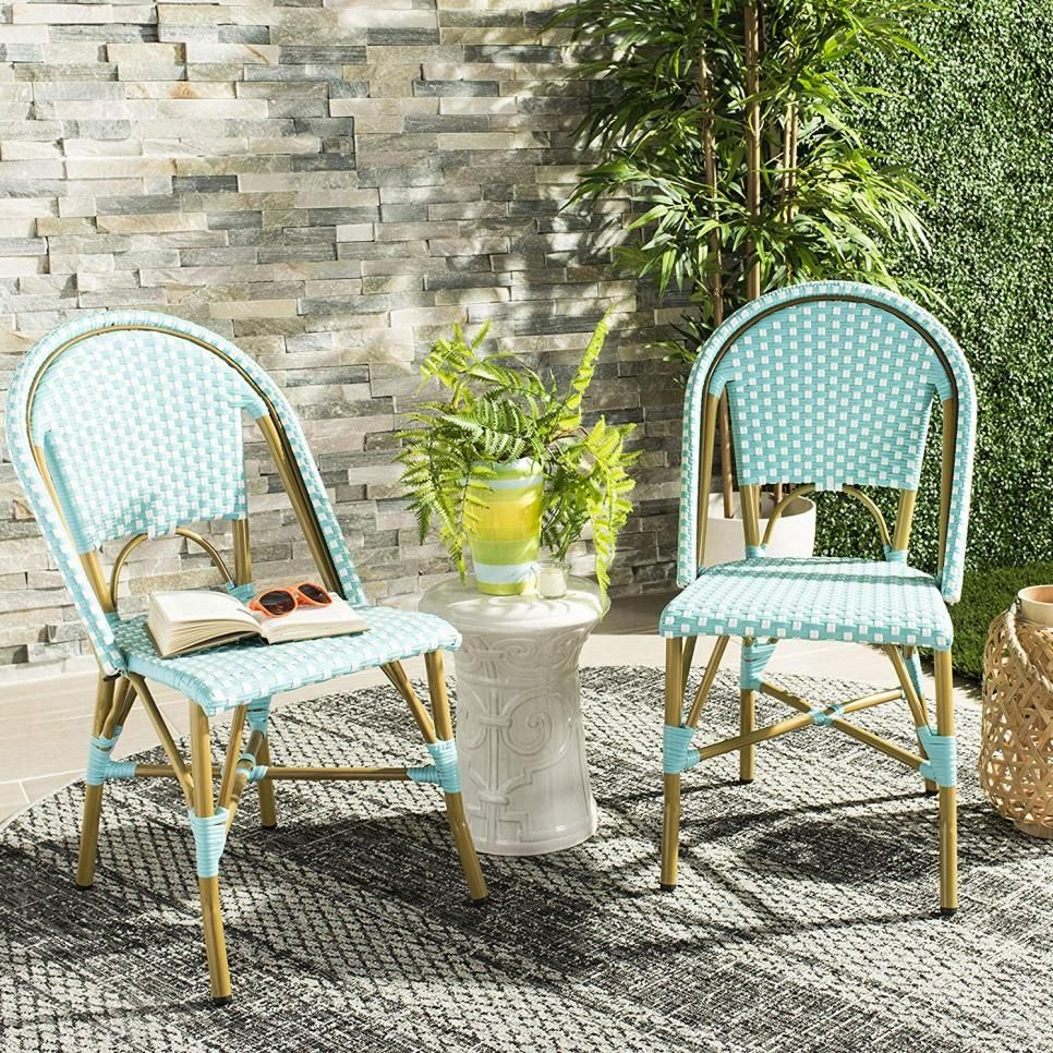 Best Patio Furniture Under 500 Hgtv Com Hgtv Patio Dining Chairs Bistro Chairs Stacking Side Chair