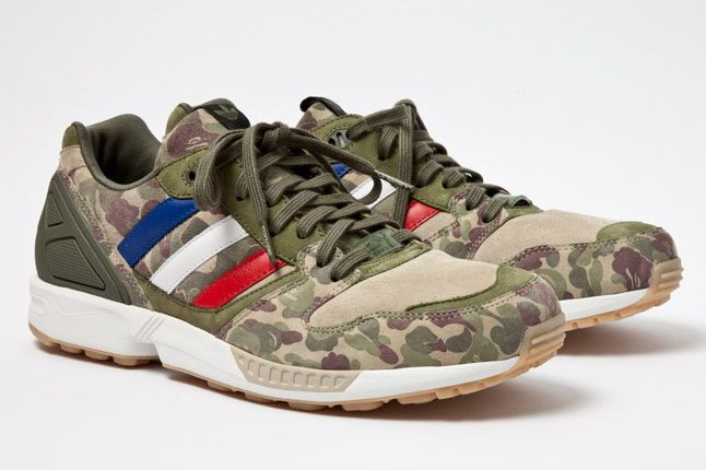 b27a270c8 BAPE x Undefeated x adidas Consortium ZX 5000 – A Detailed Look