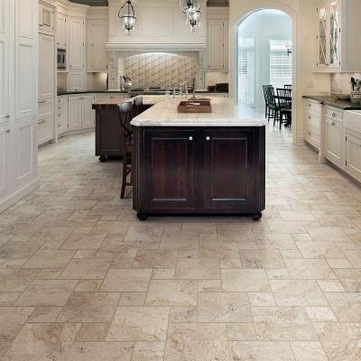 Home Depot Marazzi Travisano Trevi 18 In X Porcelain Floor Tile Looks Like Travertine