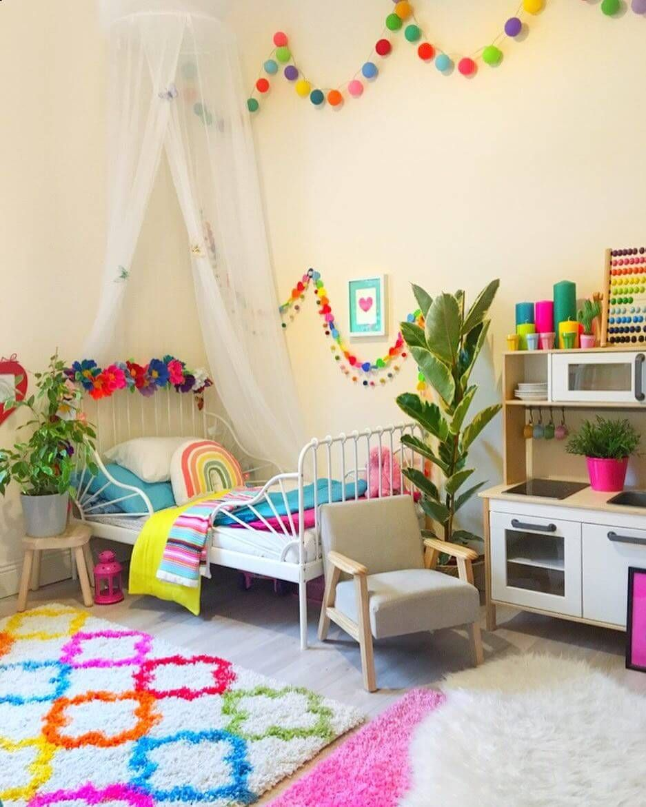 21 Creative Toddlers Room Ideas Will Make You Want to Be a Kid Again #toddlerrooms