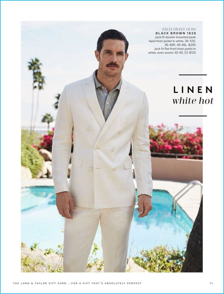 Vintage Cool: Justice Joslin Models Summer Style for Lord & Taylor ...