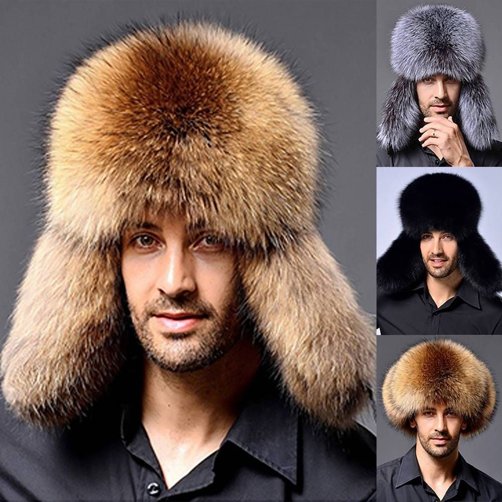 804f92990af7d Nice Men Faux Fur Hat Russian Ushanka Bomber Aviator Trapper Hat with  Earflap  fashion  clothing  shoes  accessories  mensaccessories  hats (ebay  link)