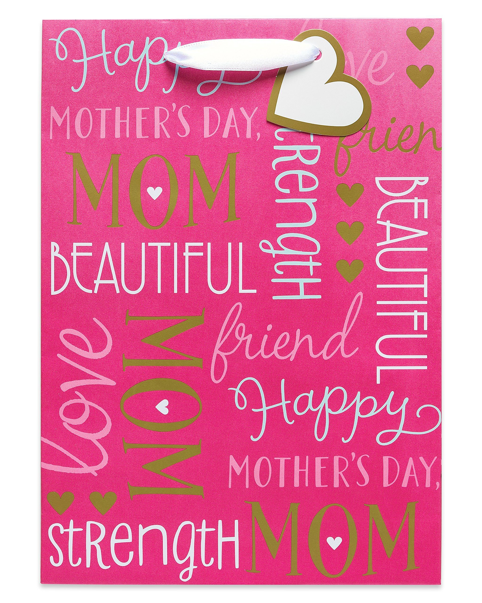 American Greetings Gold Foil Decorative Paper Celebrating Mom