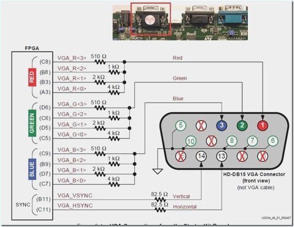 Hdmi To Vga Wiring Diagram Upgrade Exelent Psx Vga Wiring
