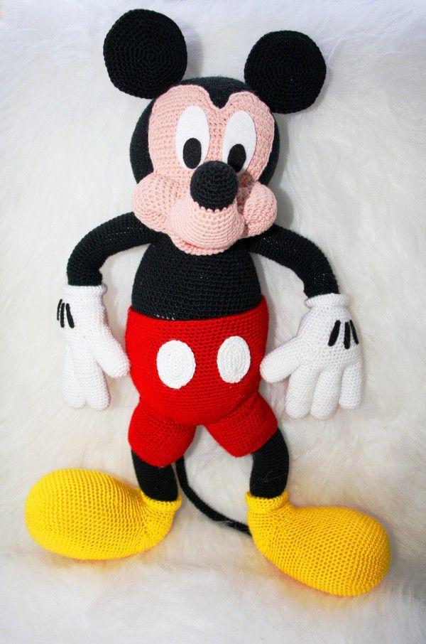 Amazing Mickey Maus Baby Häkelmuster Component - Decke Stricken ...