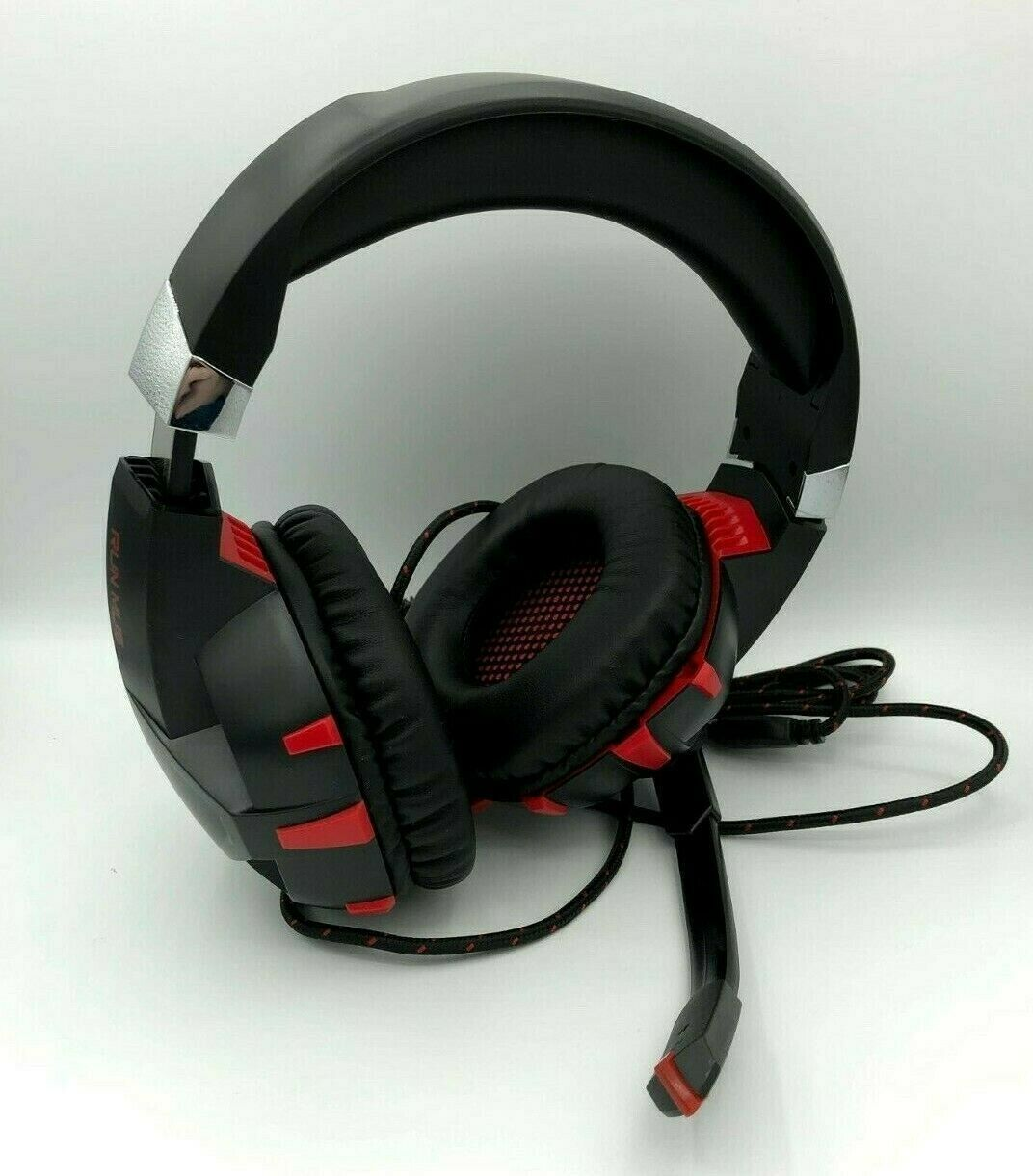 K2 Gaming Headset 7.1 Channel Stereo USB Headphone Earphone w// Mic for PC Laptop