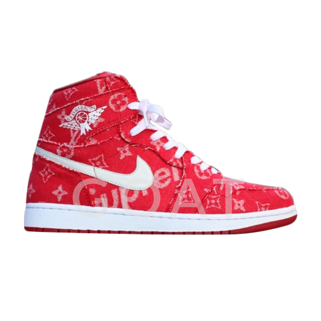 c51ccaa122af Supreme x Louis Vuitton x Red Ribbon Recon x Air Jordan 1 Retro High - Air  Jordan - - multi-color multi-color