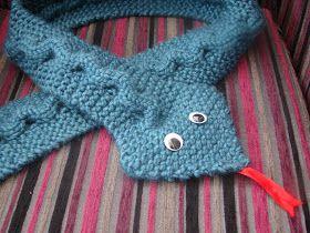 Busy Crafting...: Snake Skin Scarf Knitting Pattern
