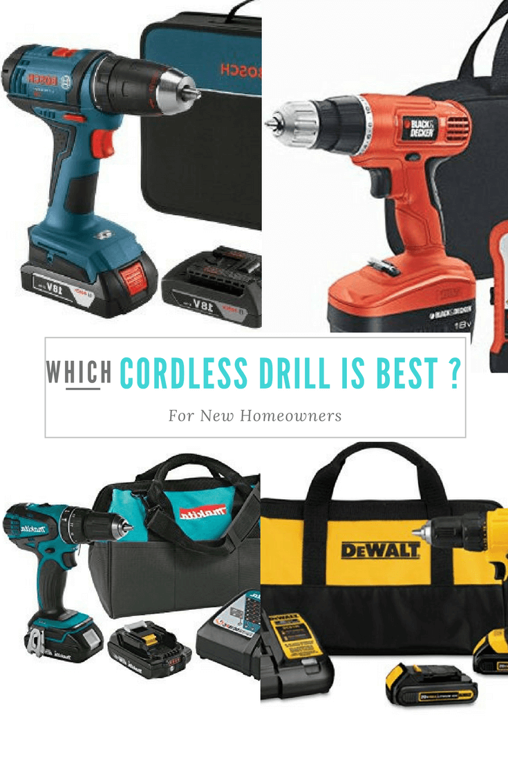 Which Cordless Drill is Best For New Homeowners? -…
