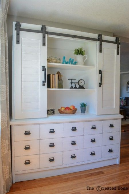Modern Farmhouse Dining Room Sideboard