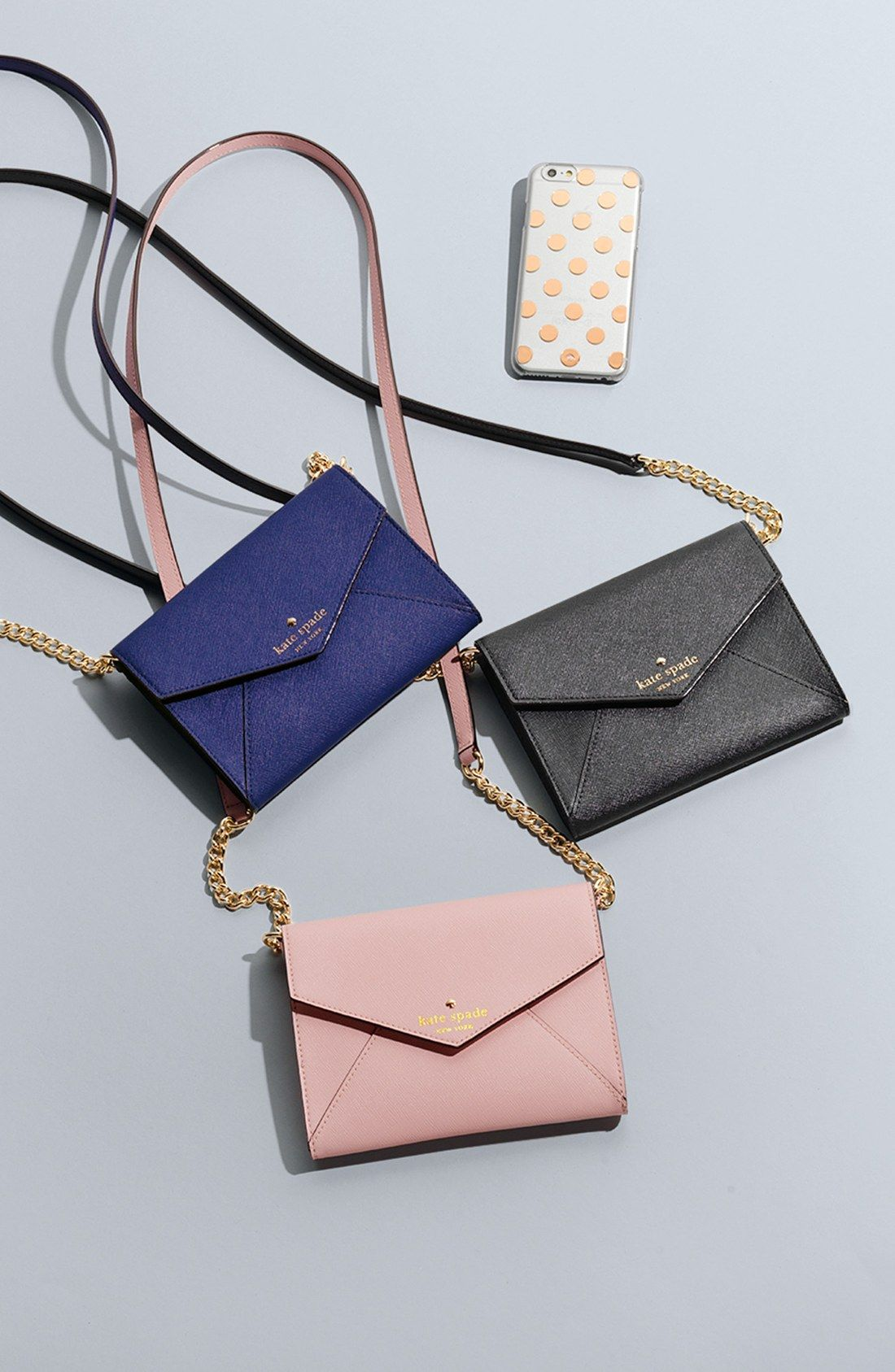 cd5e87cd0eaf These Kate Spade crossbody bags are très chic.