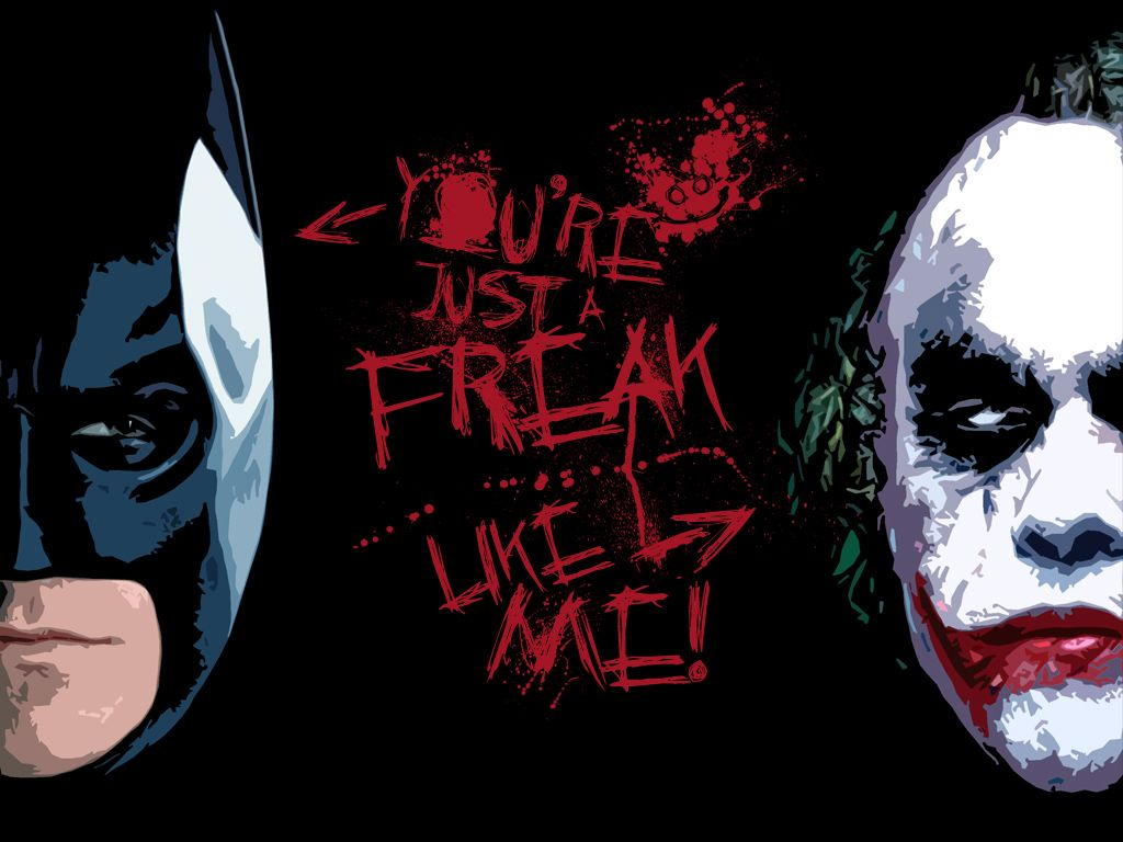 batman vs joker essay Joker is the opposite of the order batman has in his life, he likes chaos and believes life is a game the joker doesn't see the need for rules and doesn't care for the consequences being a child with parents who didn't support him.