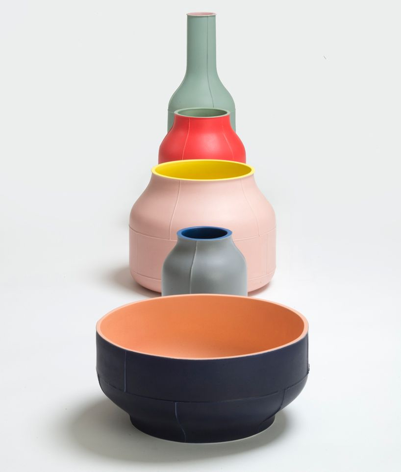 Benjamin Hubert Manipulates Ceramic Manufacturing In Seams Collection Ceramic Tableware Ceramic Design Ceramics