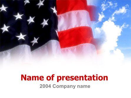 http://www.pptstar/powerpoint/template/american-flag/ american, Powerpoint templates