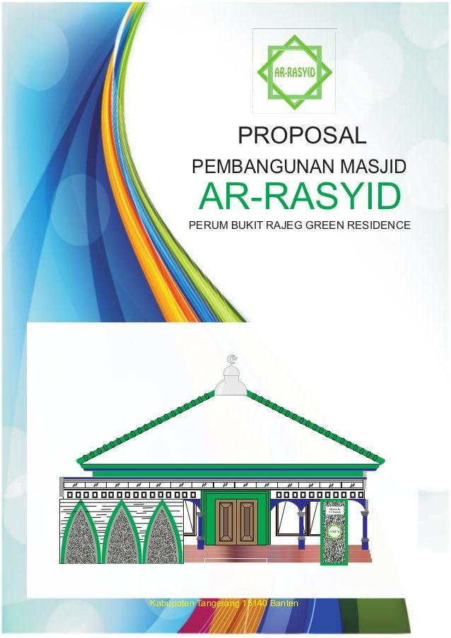 Cover Proposal Masjid : cover, proposal, masjid, Kamal, Pintu, Proposal,, Masjid,, Banten