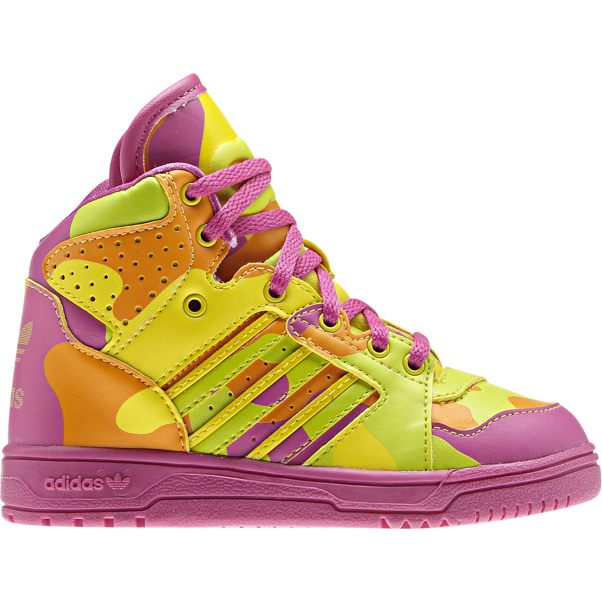 adidas Kids Instinct Hi Neon Camo Shoes adidas UK (met