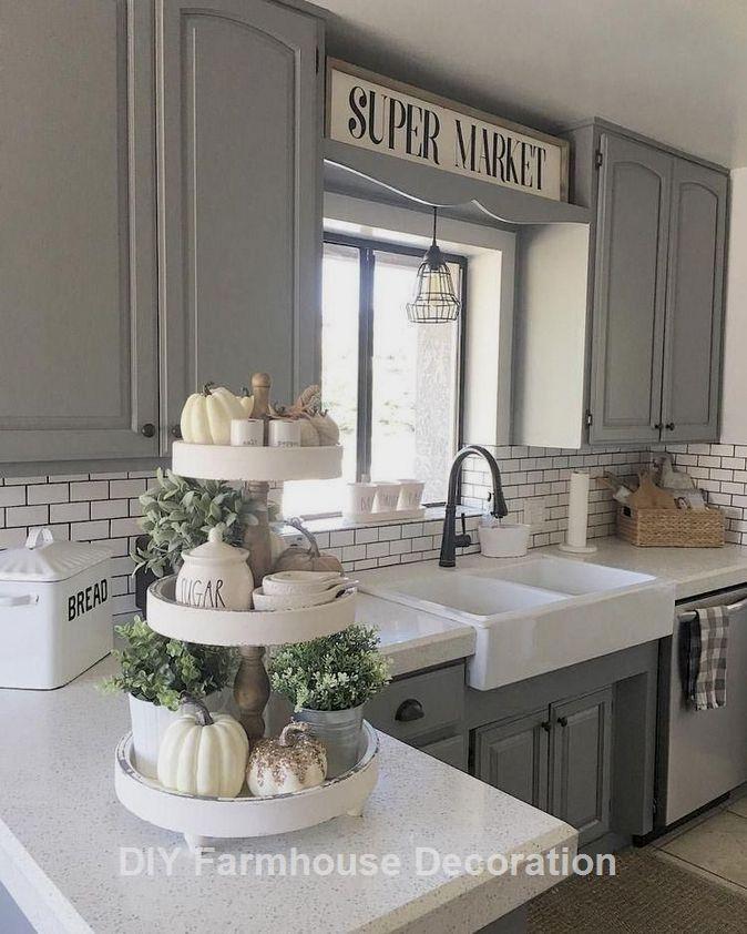 Diy Easy And Great Farmhouse Decor Ideas Farmhousedecor Farmhouse Kitchen Design Farmhouse Kitchen Decor Kitchen Design
