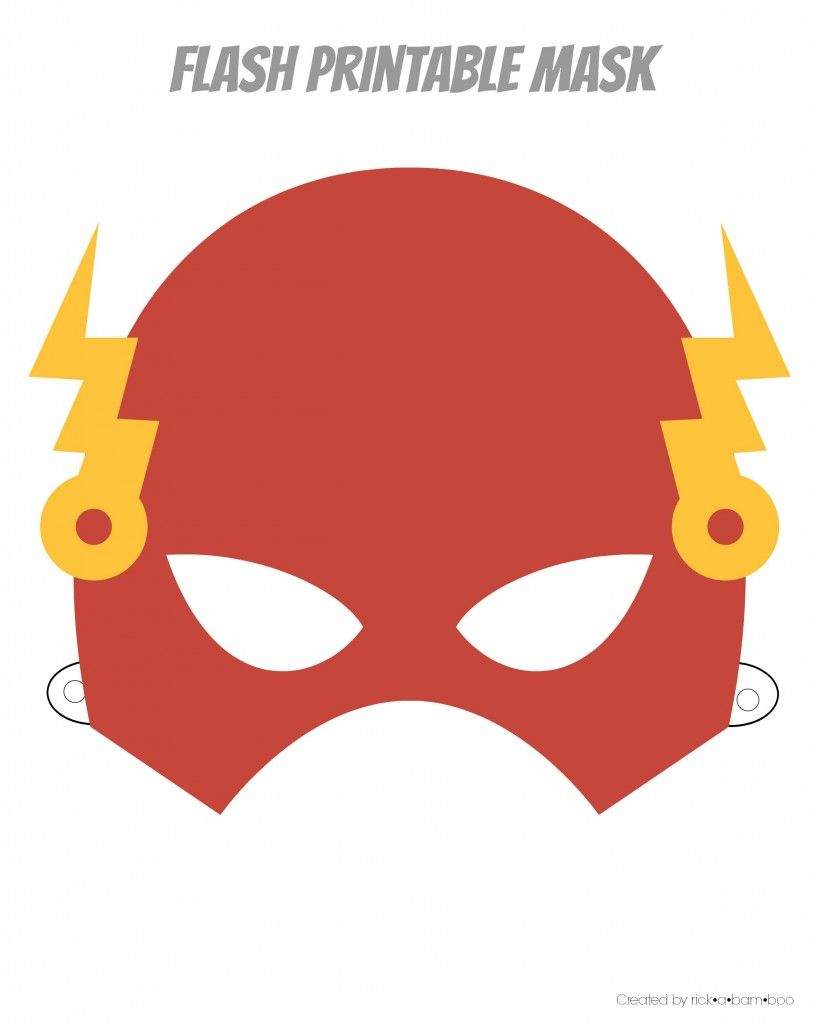 Shocking image for superhero printable masks