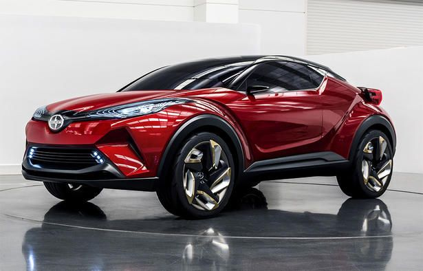 Scion C Hr Concept Debuts In La Toyota C Hr Toyota Nissan Juke