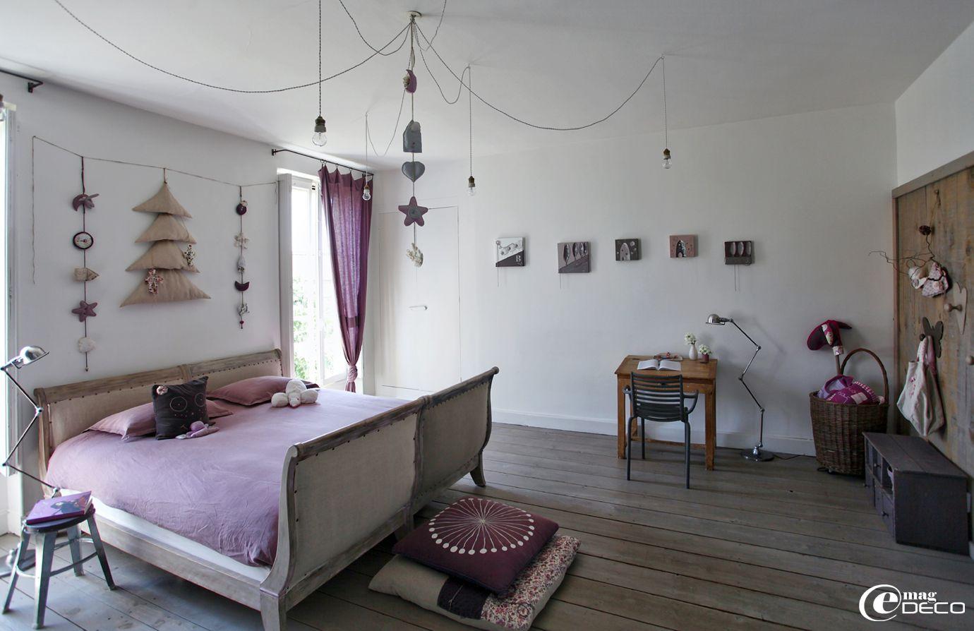 chambre de jeune fille d cor e par b atrice loncle. Black Bedroom Furniture Sets. Home Design Ideas