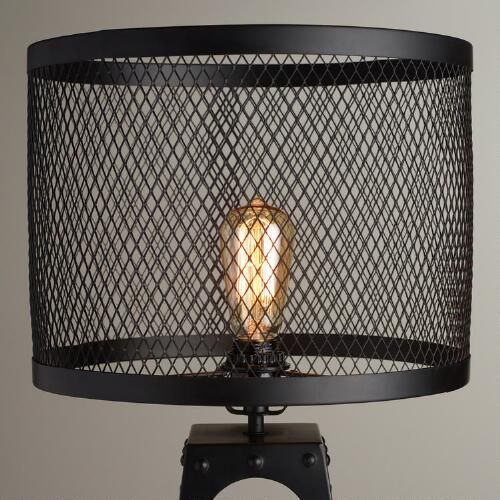 Riveted Table Lamp Shade Lampenschirm Streichen Lampe Gruner Lampenschirm