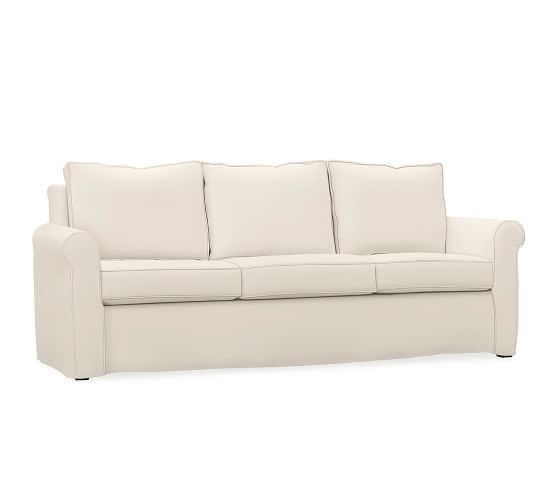 Cameron Roll Arm Slipcovered Sofa Furniture Slipcovers