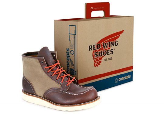 Red Wing x Concepts 875 Boots | Red wing boots, Wings and Red