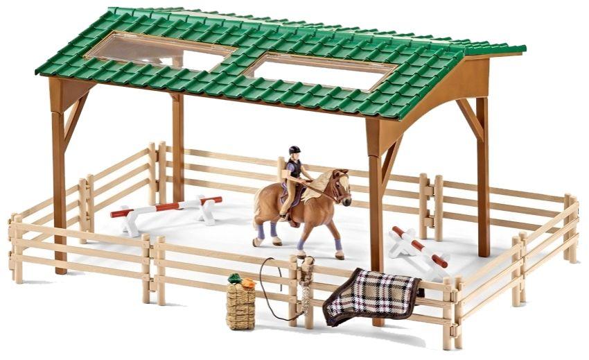 Schleich Wybieg Dla Konia 42189 6734611000 Oficjalne Archiwum Allegro Riding Arenas Horse Arena Horse Riding Arena