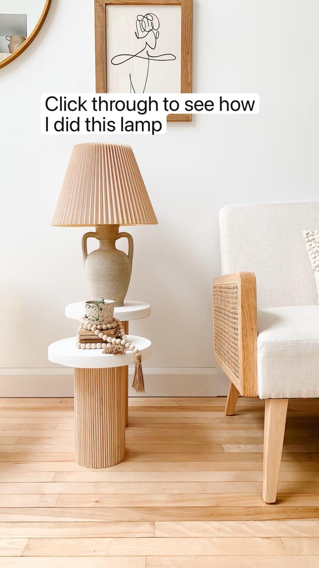 Vintage Lamp DIY